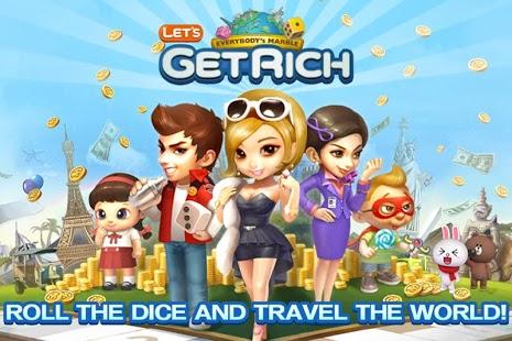 Trik Sehat Line Let's Get Rich